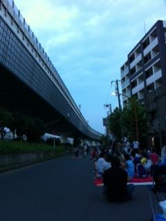 蔵前橋近く