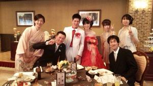 恵里ちゃん結婚式