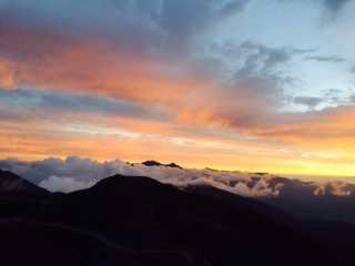 雲海(富士見岳)