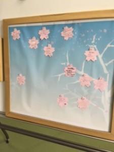 桜の開花情報_スキット