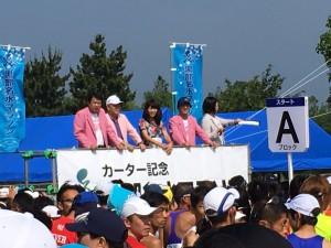 黒部名水マラソン2016