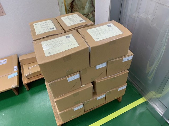 紙製マスクケース21000部