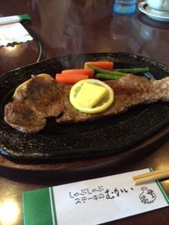 松阪のステーキ
