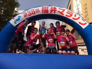 福井マラソン集合写真