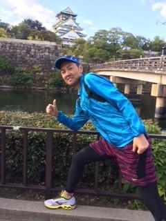 大阪城バック