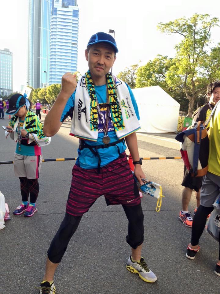 大阪マラソン 2015ゴール