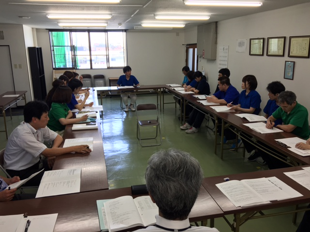 2016経営計画書中間発表会