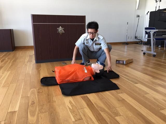 AED講習サンプル