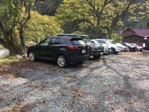 鳩ヶ湯温泉駐車場