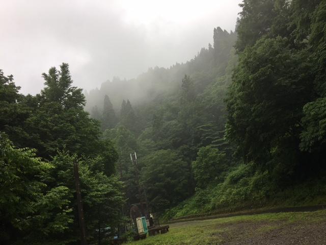 赤兎山登山口