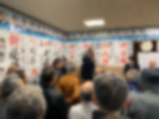 選挙事務所開き2