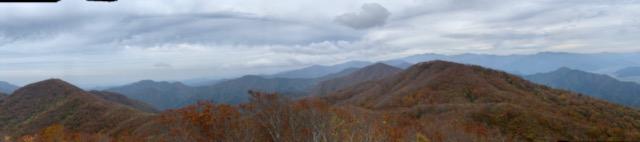 浄法寺山頂上