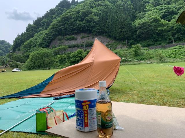テント張り4
